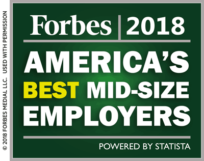 Forbes 2017 America's Best Mid-Size Employers