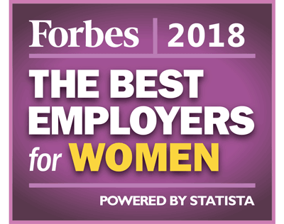 Forbes 2018 The Best Employers for Women