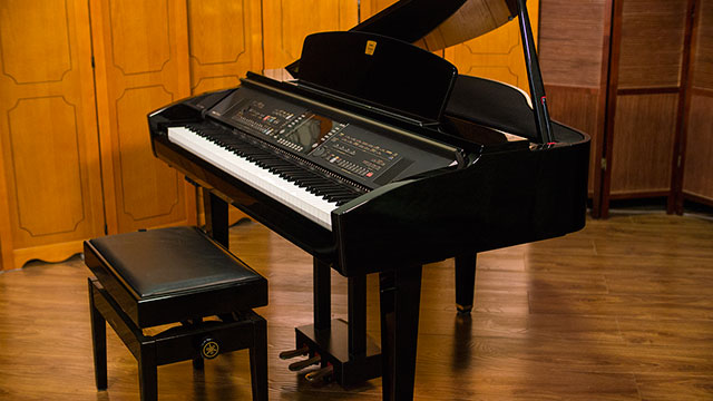 How many strings are on a piano for Yamaha clavinova cvp 7 for sale