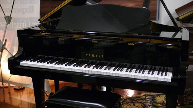 Yamaha c3 grand piano 1613491 living pianos for Yamaha grand piano sizes