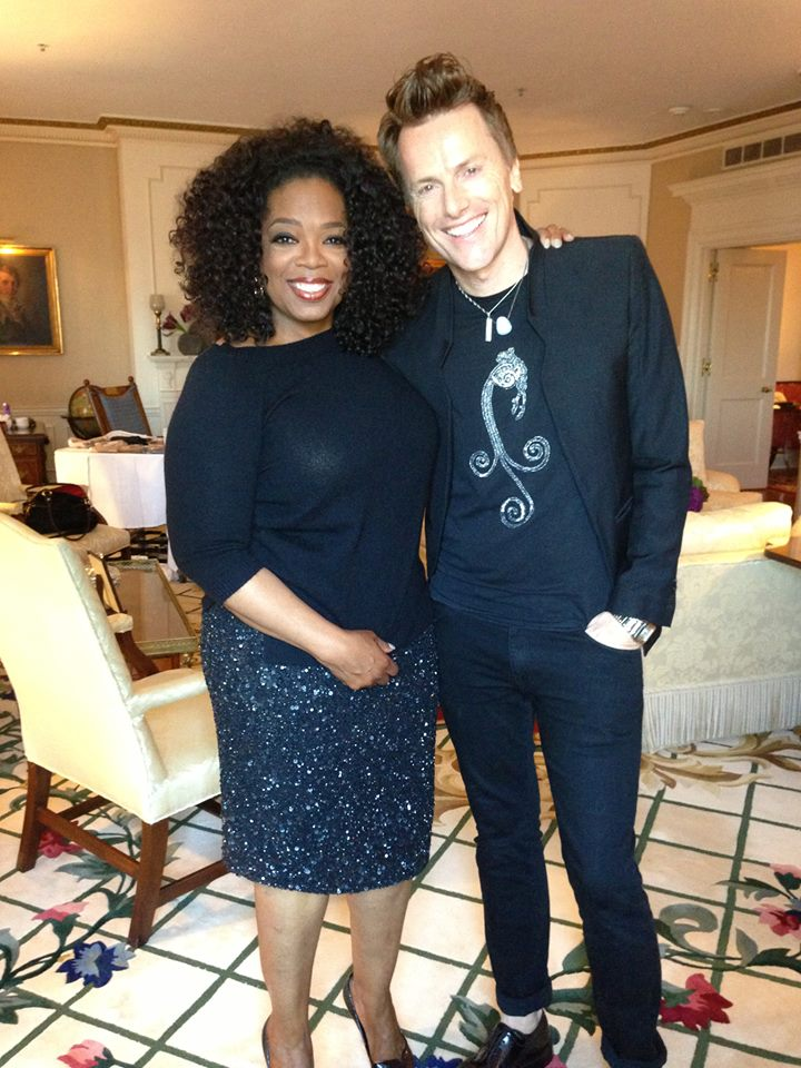 Oprah and Theia creative director