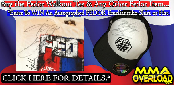 Fedor Chicago Walkout Tee