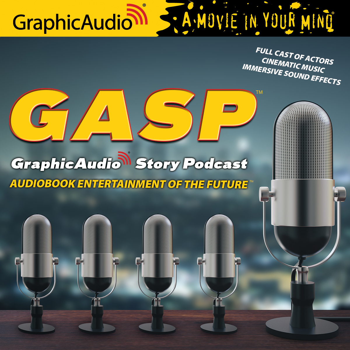 G.A.S.P. - GraphicAudio Story Podcast