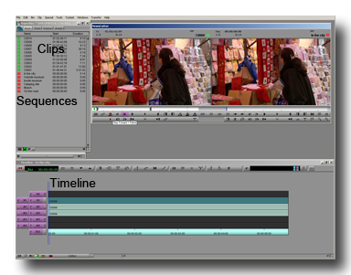 video editing tips: project window