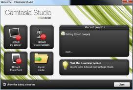 Camtasia Screen Recording