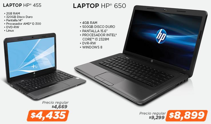 Laptops en la Venta Nocturna de MiPC