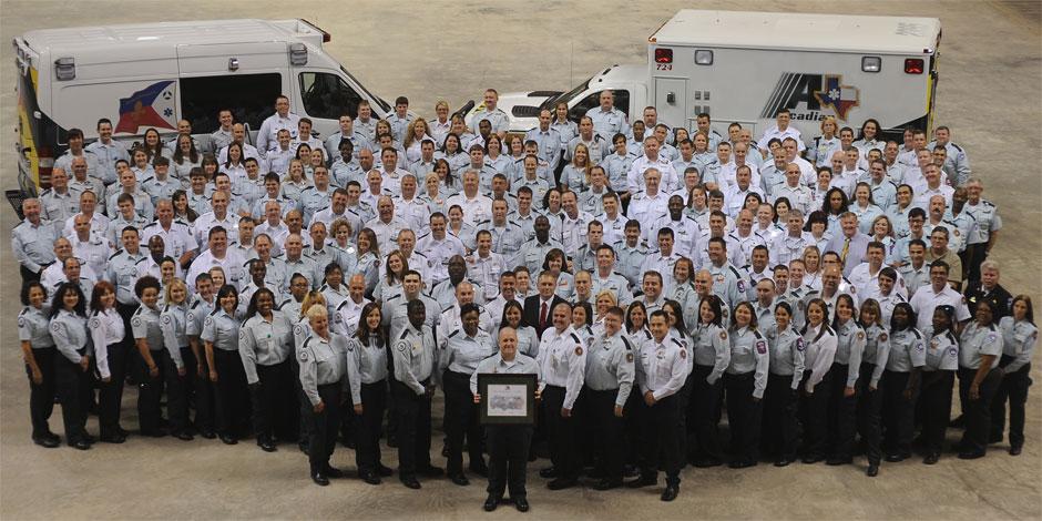 Acadian Ambulance Medics