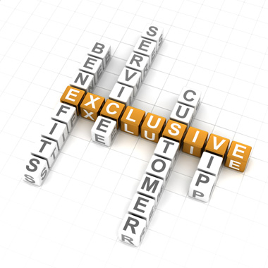 Exclusive Benefits and Service