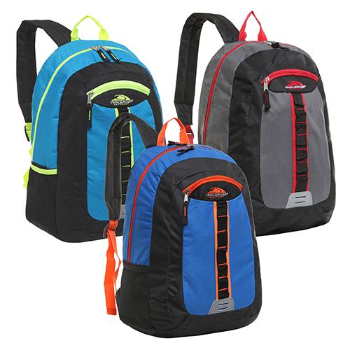 Trailmaker Daisy Chain Multi Compartment School Book Bag – Three Color