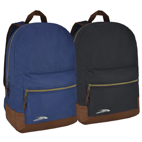 Trailmaker Dual Color Leatherette Bottom Kids School Bag