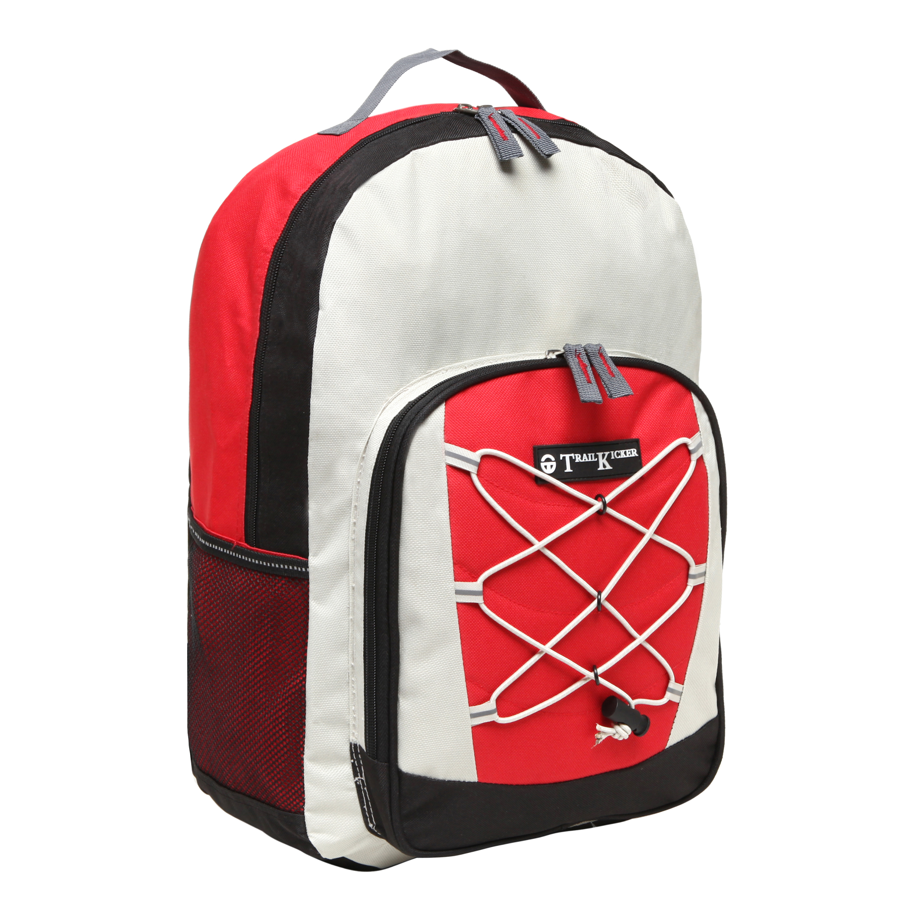 Wholesale Red Bungee Front Kids School Book Bag