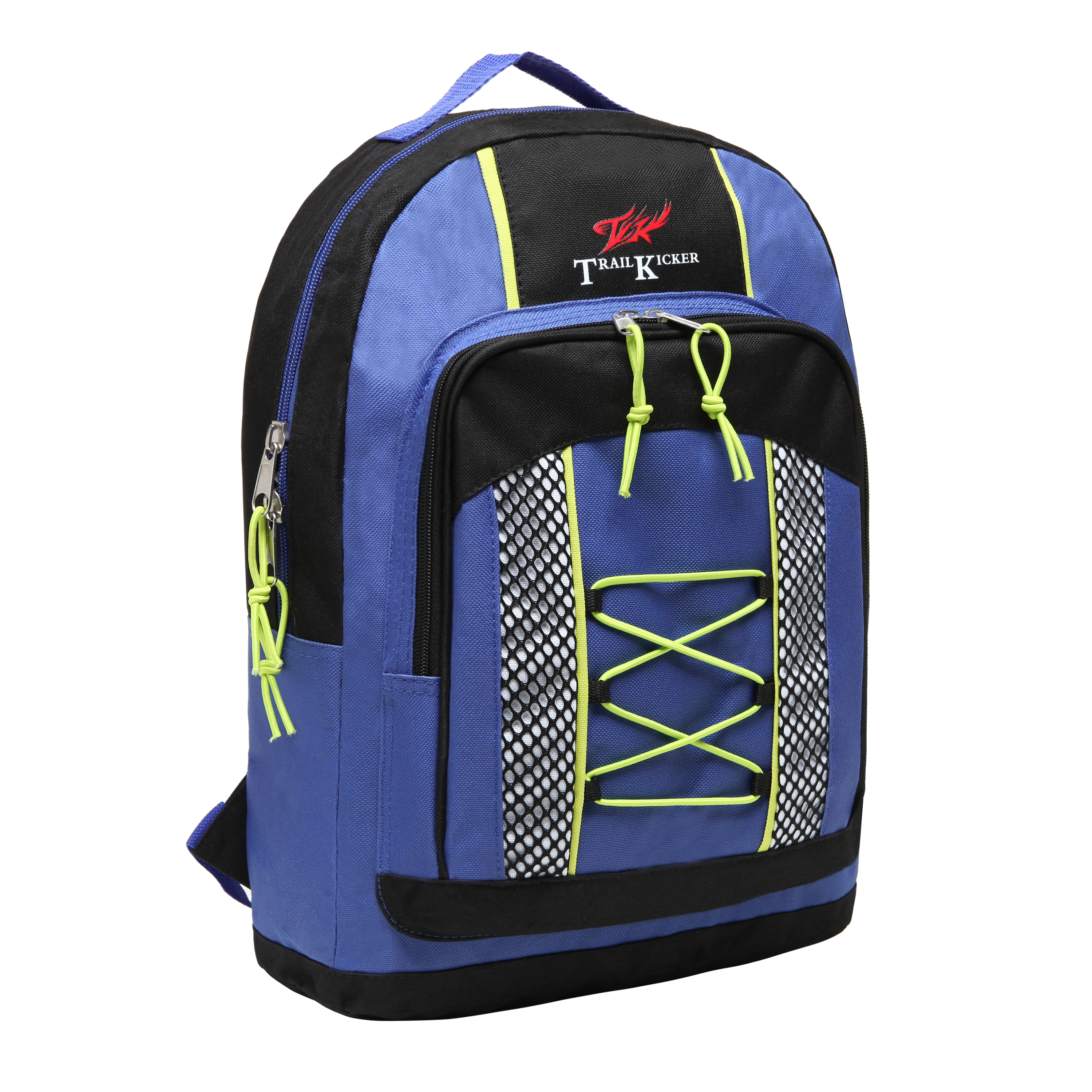 Wholesale Small Blue Elementary School Bungee Backpack