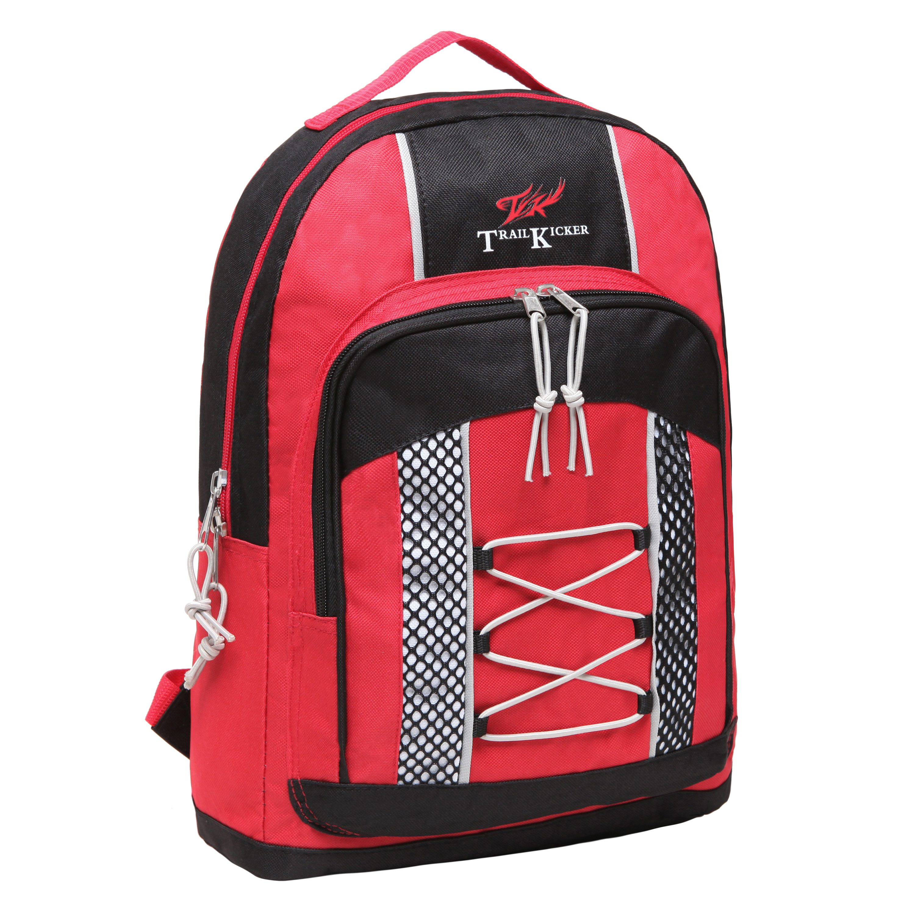 Wholesale Small Red Elementary School Bungee Backpack