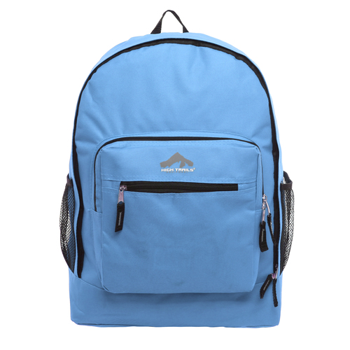 Classic Multi-Compartment 17.5 inch Kids Backpack - Blue