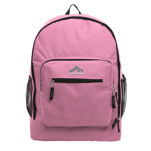 Classic Multi-Compartment 17.5 inch Kids Backpack - Pink