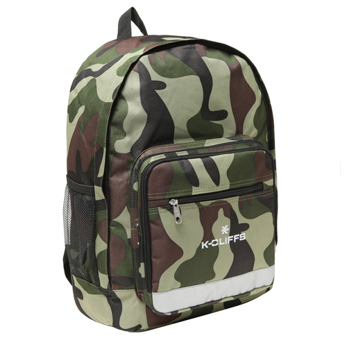 Wholesale Backpacks Camo Print Multi Compartment Full Size Backpack