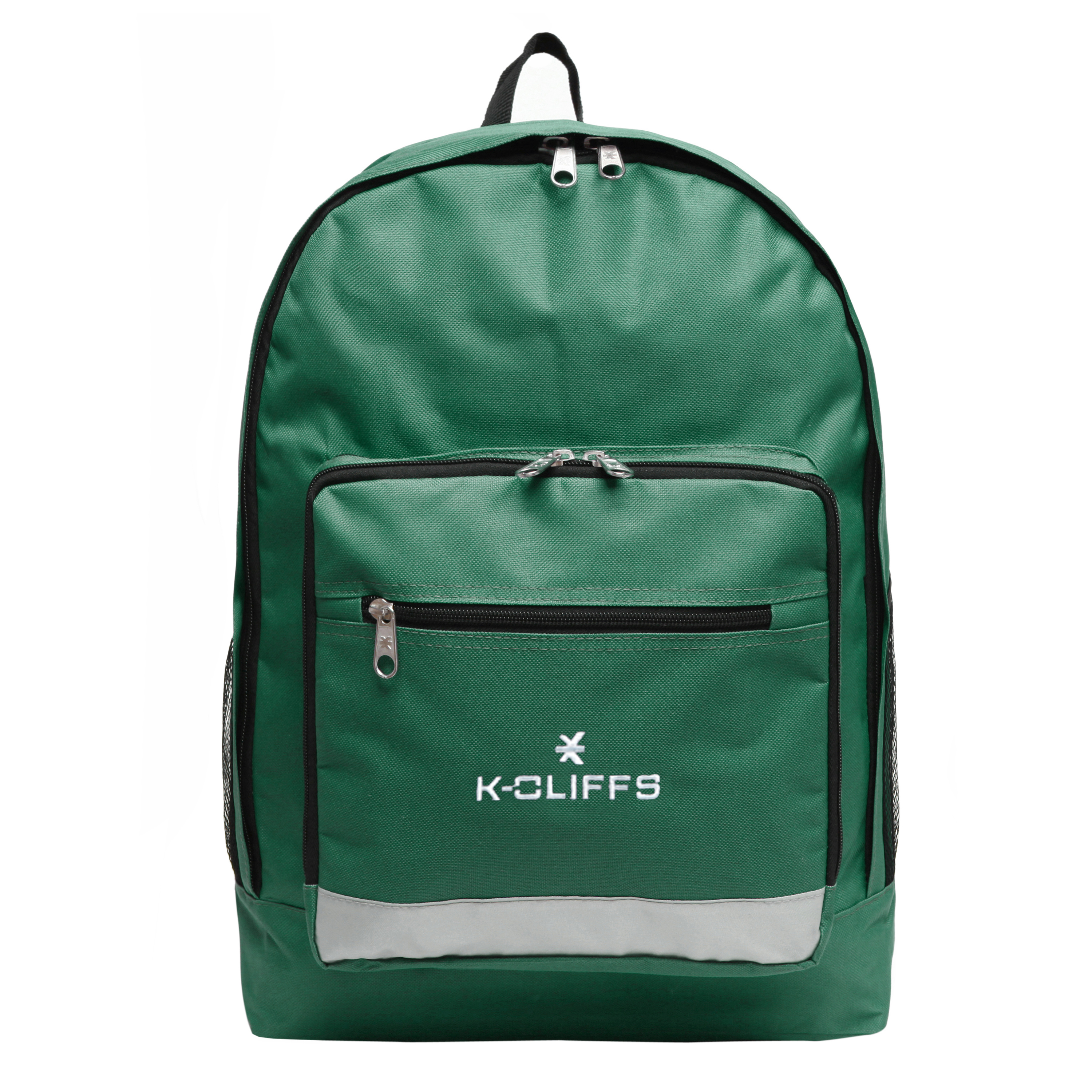 K-Cliff 3-Pocket Green Backpack