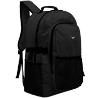 MGgear 19 inch Oversized Wholesale College Backpacks, Black