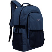 MGgear 19 inch Oversized Wholesale College Backpacks, Navy Blue