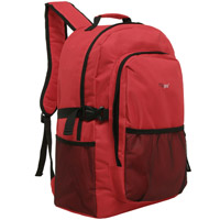 MGgear 19 inch Oversized Wholesale College Backpacks, Red