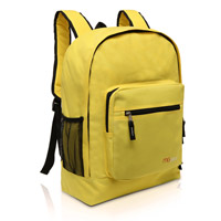 MGgear 17.5 inch Multi-Pocket School Book Bags In Bulk, Yellow