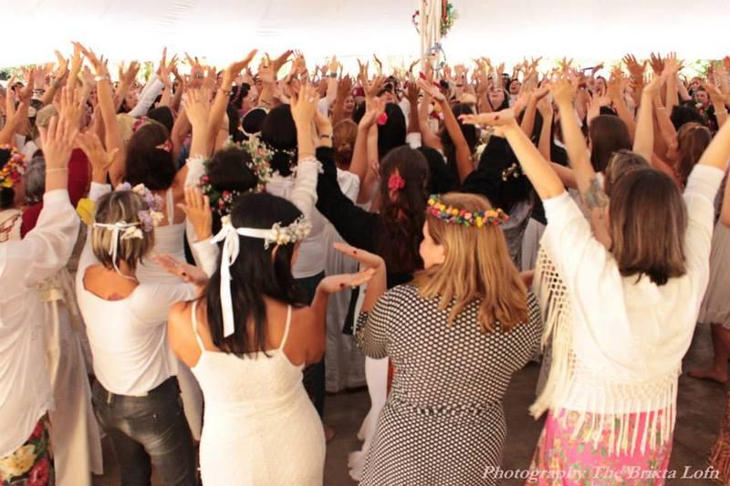 Encontro Mundial de Círculos de Mulheres, em SP. 2014. Foto: Magda Fernanda