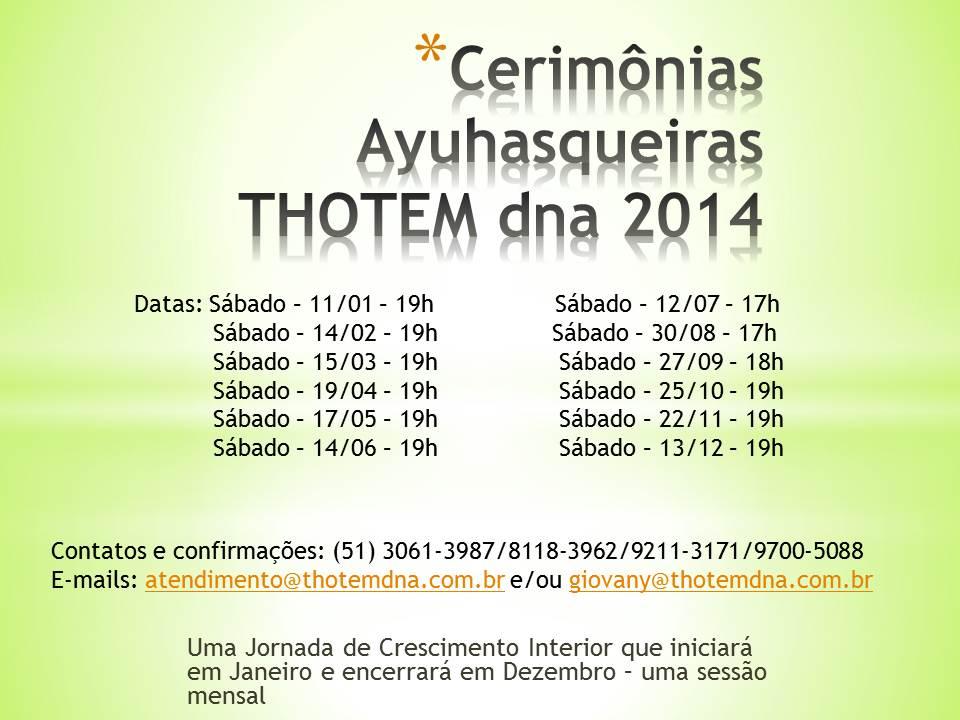 Cerim%c3%b4nias ayuhasqueiras thotem dna 2014