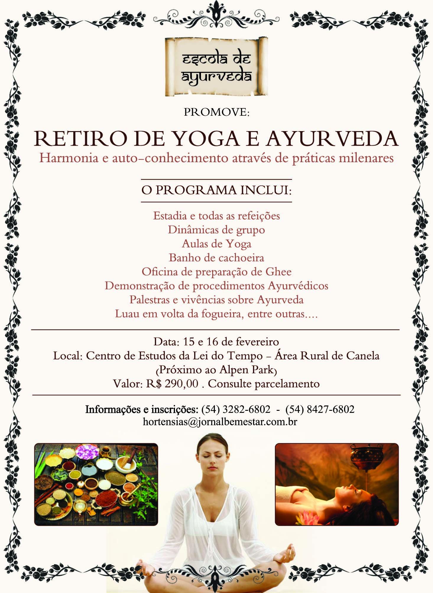 Retiro de yoga janeiro 2014