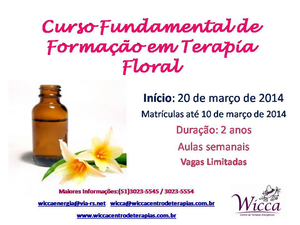 Terapia floral 2014
