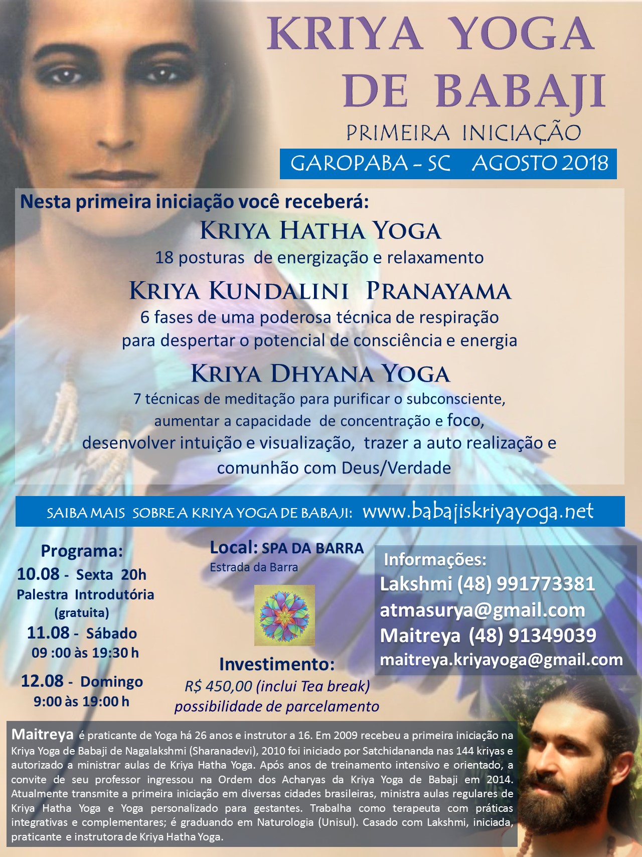 Flyer garopaba  spa 2018
