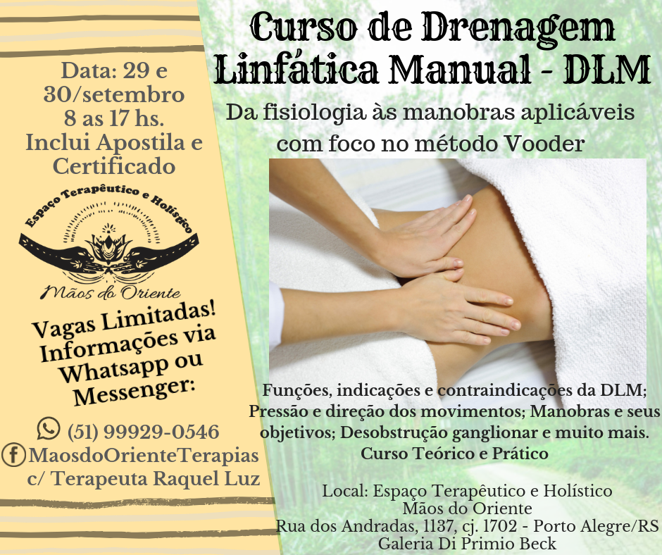 Curso de drenagem linf%c3%a1tica manual