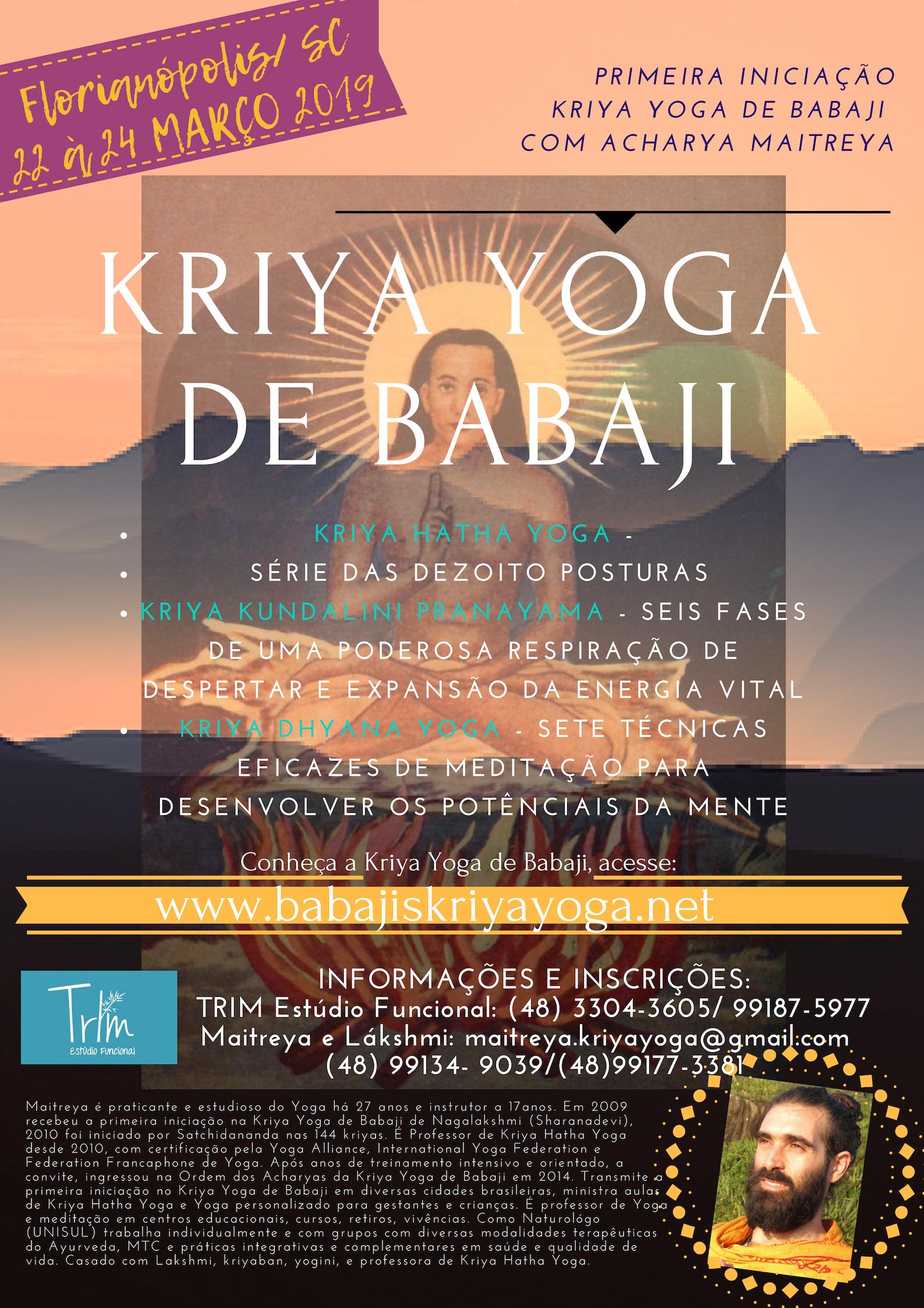 Primeira inicia%c3%a7%c3%a3o kriya yoga de babaji com acharya maitreya