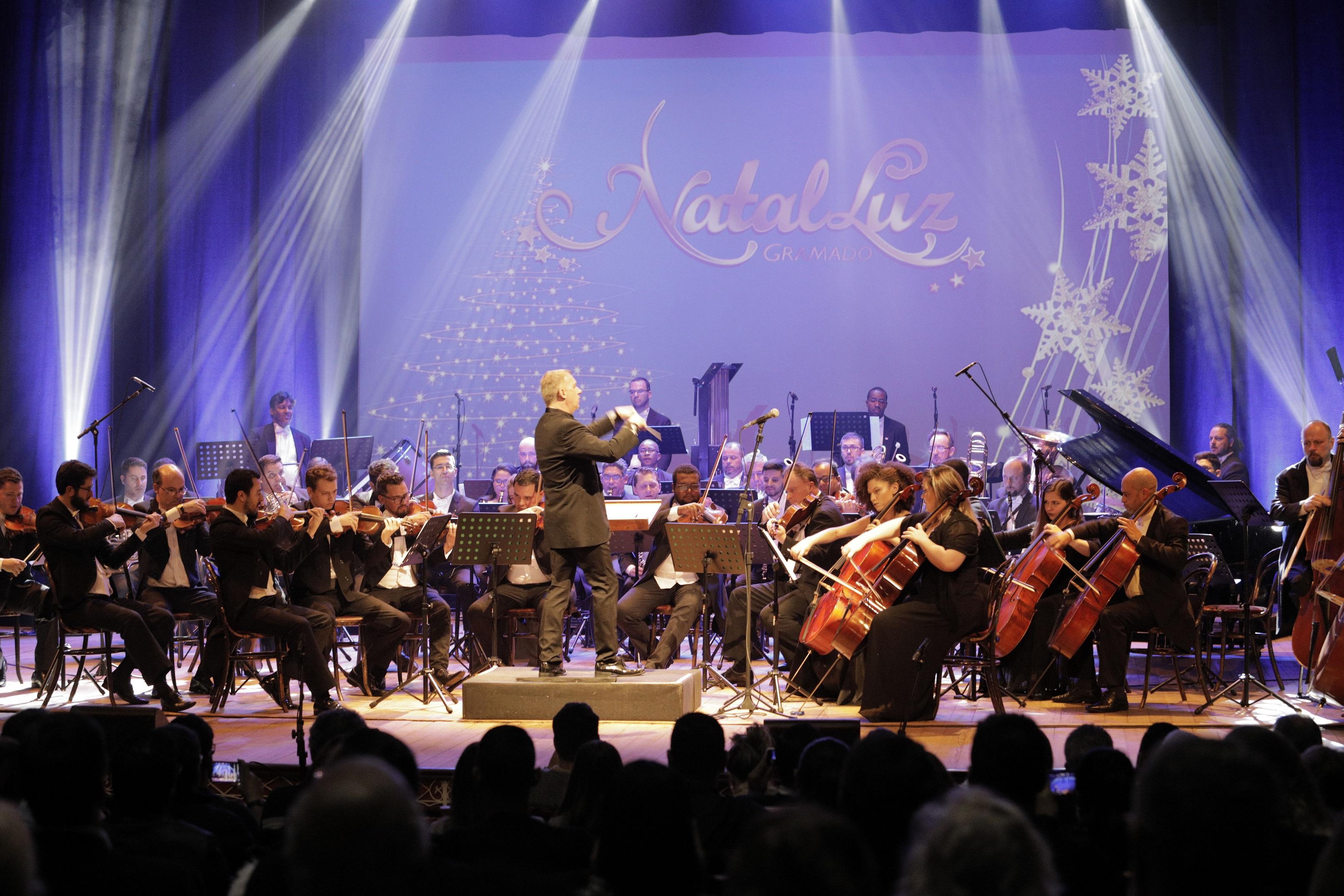 Foto orquestra sinfonica de gramado