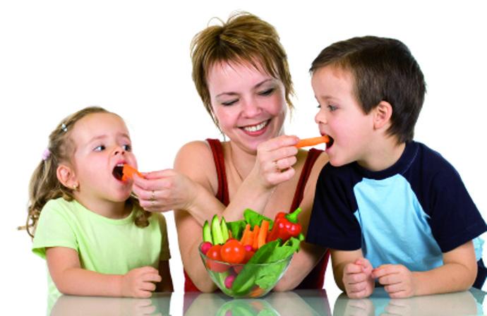 O que fazer para as crian%c3%a7as comerem verduras