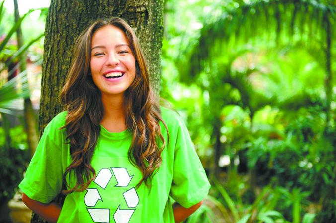 O estilo da vida verde
