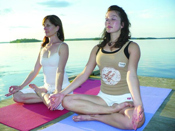Exercicios respiratorios do ioga
