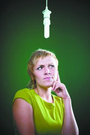 Descarte de lampadas economicas