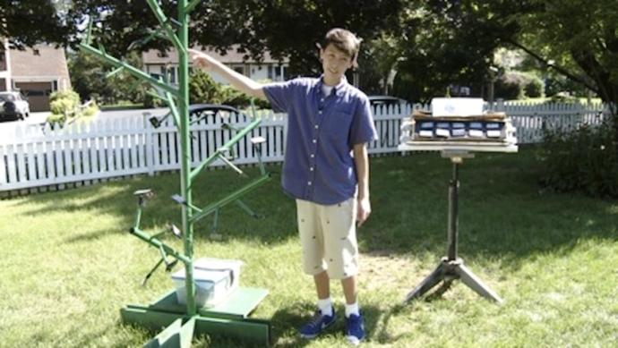 Menino 13 anos descobre forma mais eficiente produzir energia solar (1)