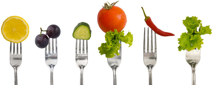 Consumo de agua por alimentos