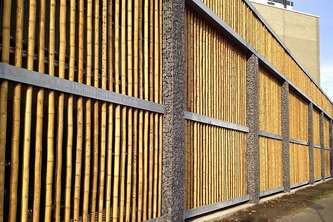 M32 bamboo construction