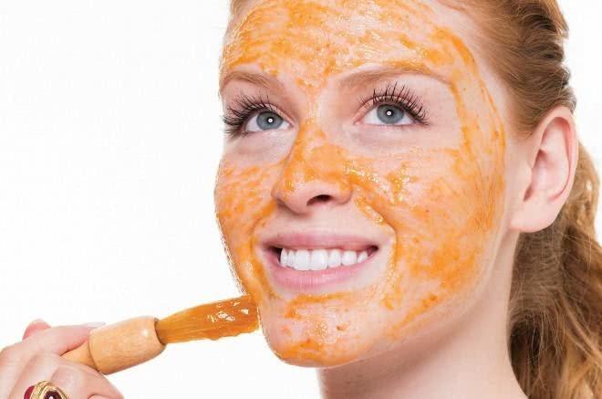 Mascaras caseiras para esfoliar o rosto
