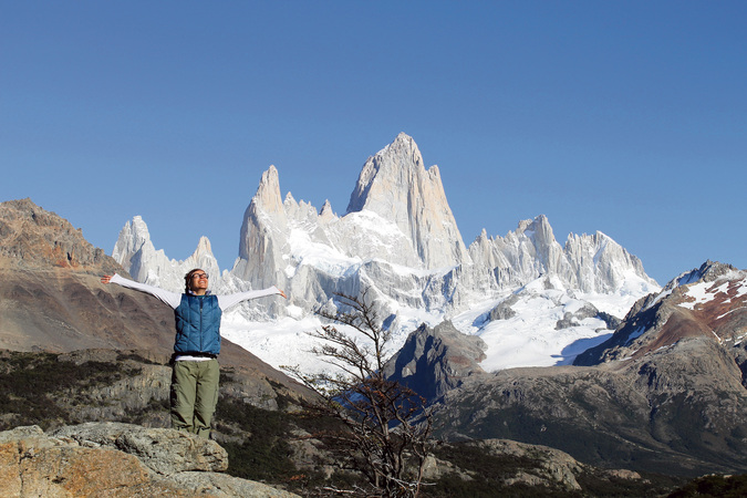 Jane trilha fitz roy patagonia argentina