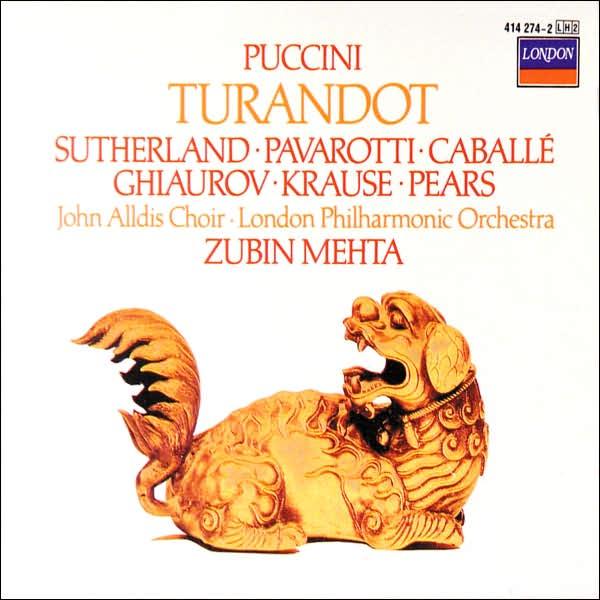 Giacomo puccini   turandot (mehta  pavarotti  sutherland  caball%c3%a9)   front