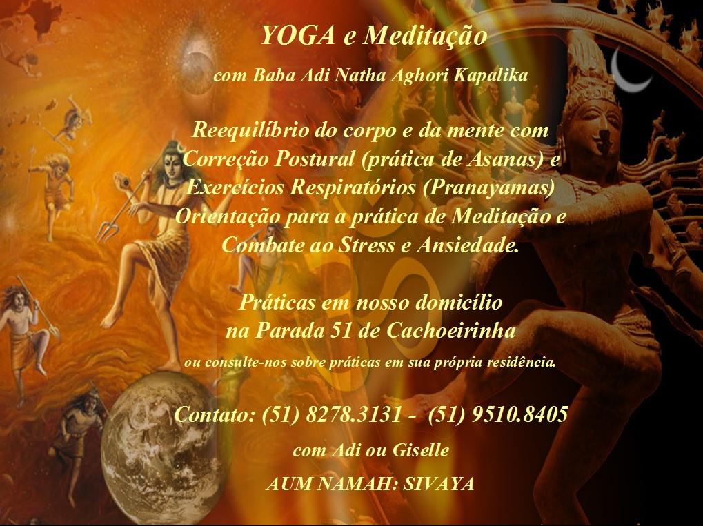 Flyer yoga novo