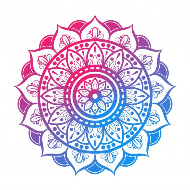 Mandala indiana colorida 124044 30
