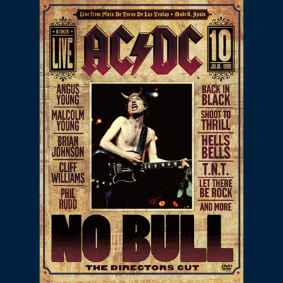 ACDC - No Bull (DVD / Blu-ray)