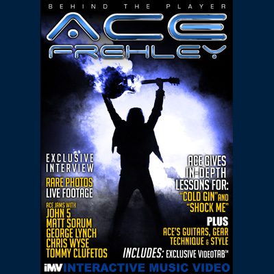 Ace Frehley - Behind The Player (DVD)