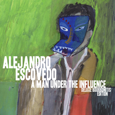 Alejandro Escovedo - A Man Under the Influence: Deluxe Bourbonitis Blue Edition (Vinyl)