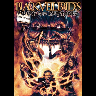 Black Veil Brides - Alive And Burning (DVD)