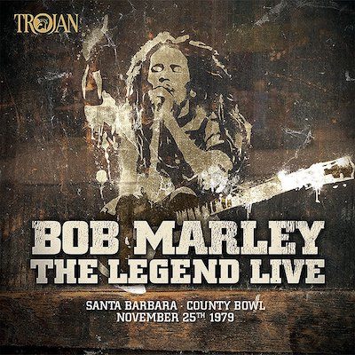 Bob Marley & The Wailers - The Legend Live In Santa Barbara (Vinyl)